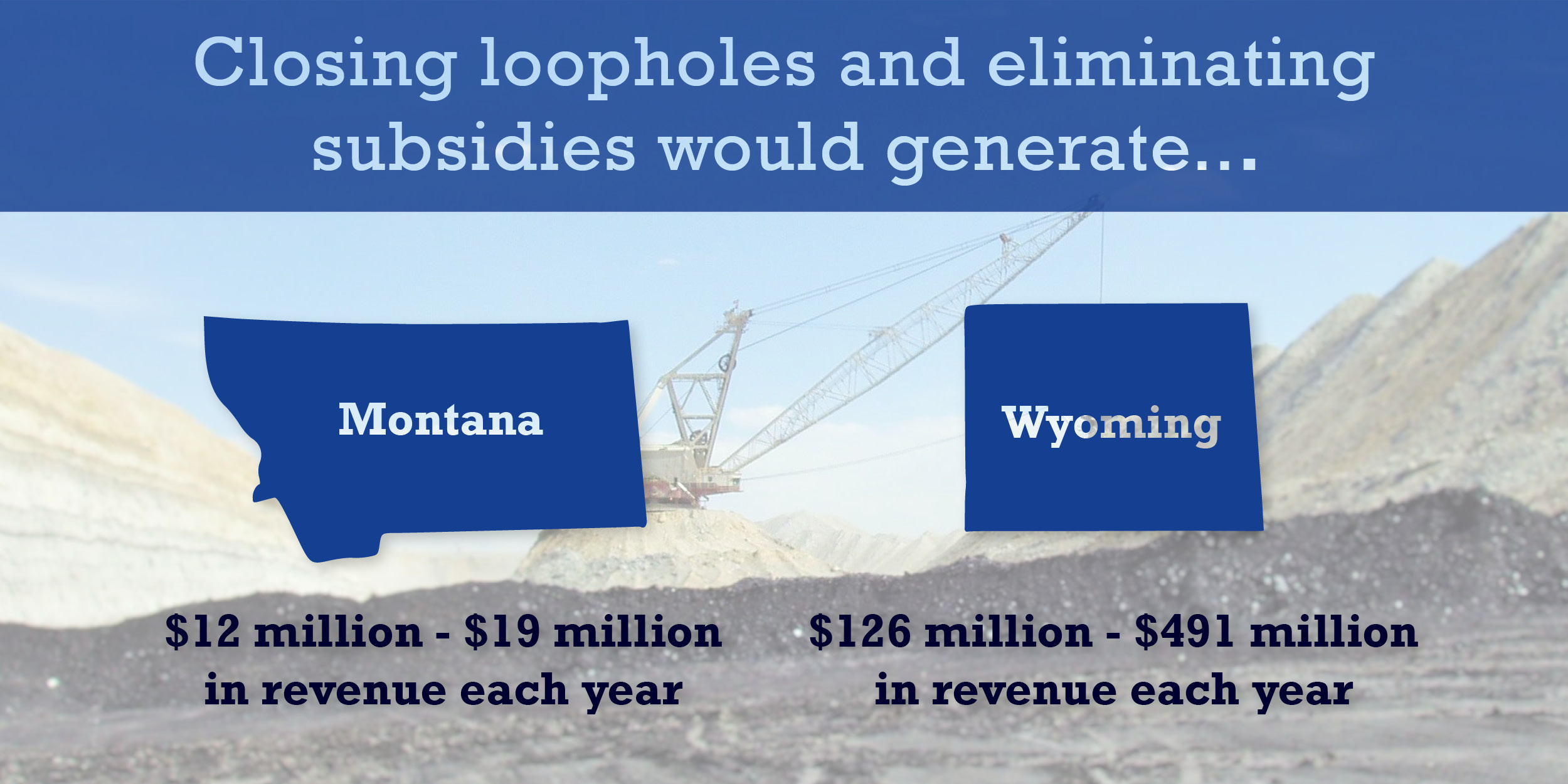 Closing loopholes and eliminating subsidies would generate...